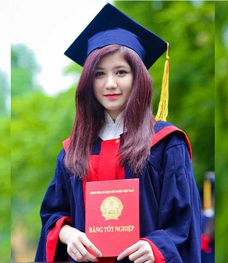Đồng phục tốt nghiệp cấp 2 M04